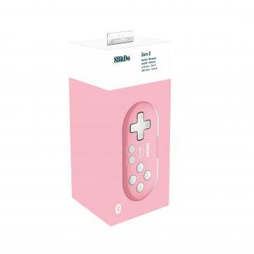 8BitDo Zero 2 Mini Gamepad - Pink Edition