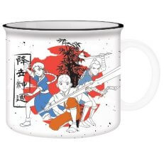 Avatar - Aang, Katara, Sokka Group Pose Camper Mug - 20oz