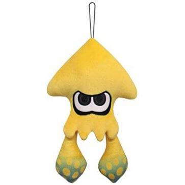 "Splatoon Inkling Squid Sun Yellow 9"" Plush"
