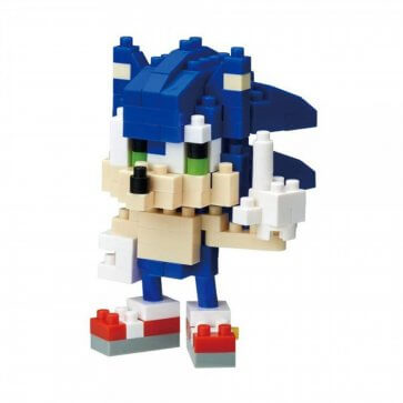 Sonic: The Hedgehog - Sonic Nanoblock - 12PC PDQ