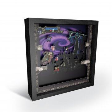 "Pixel Frame - Castlevania: Symphony of the Night 9""x9"""