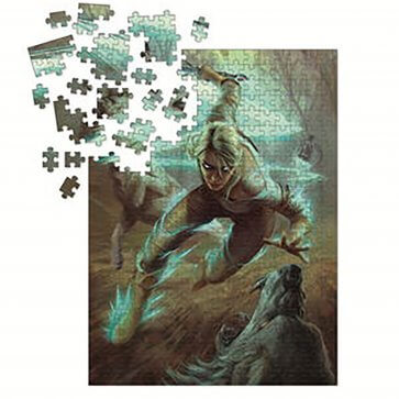 The Witcher 3: Wild Hunt Puzzle: Ciri and the Wolves