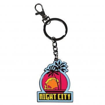 Cyberpunk 2077: Night City Keychain