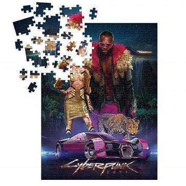 Cyberpunk 2077: Neokitsch 1000-Piece Puzzle