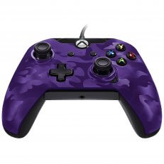 Xbox One Wired Controller Purple Camo