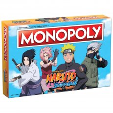 Naruto Shippuden Monopoly