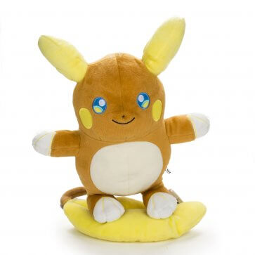"Pokemon 10"" Raichu Alolan Form Plush"
