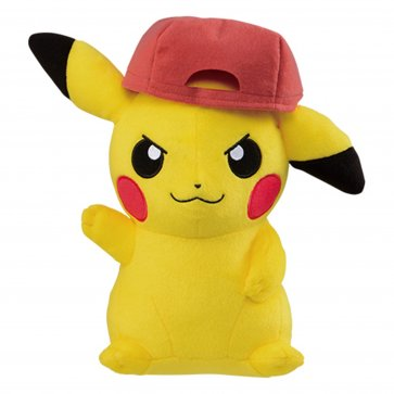 "Pokemon 10"" Pokemon The Movie Vol3 - Pikachu with Gen 5 Hat"