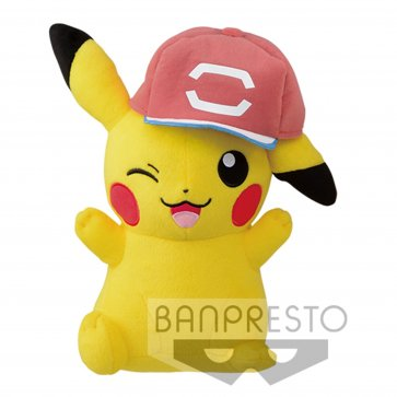 "Pokemon 10"" Pokemon The Movie Vol3 - Pikachu with Gen 6 Hat"