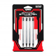 3DS 4 Pack Retractable Stylus Set
