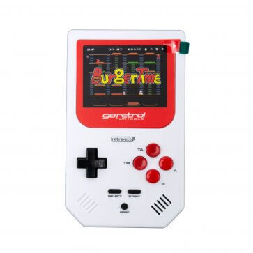 Go Retro Portable - White/Red