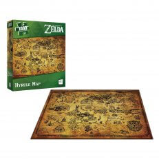 Legend of Zelda - Hyrule Map - 1000pc Puzzle