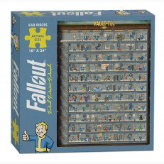 Fallout Perk Poster Puzzle (550 pieces)
