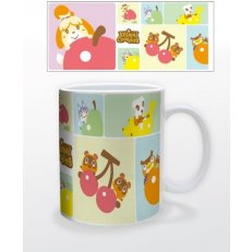Animal Crossing - Pastel Character Group Mug - 11oz