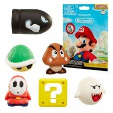 World of Nintendo Super Mario Squishies - 12PC PDQ