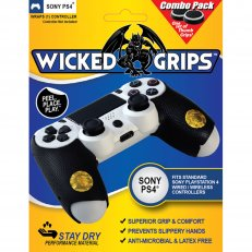 PS4 Wicked Grips & Thumb Grips Combo