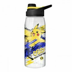 Pokemon Skate Graffiti Electrifying Pikachu Water Bottle