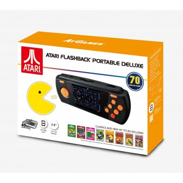 Atari Handheld Arcade Ultimate 80 Pre-Loaded Games 2017