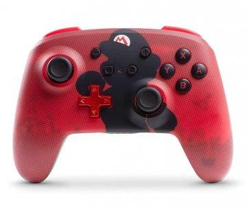 Switch Enhanced Wireless Controller - Mario Silhouette