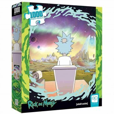 Rick and Morty - Shy Pooper Puzzle - 1000pc