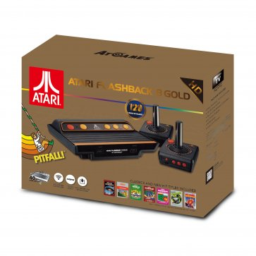 Atari Flashback 8 Gold HDMI with 2 Wireless Controllers