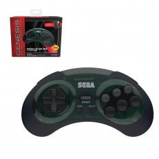 SEGA Genesis 8-Button Arcade Pad Shadow Wireless 2.4 GHz