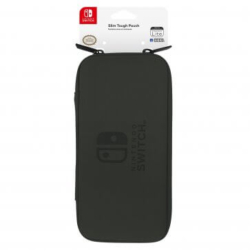 Hori Switch Lite Slim Tough Pouch Case - Black