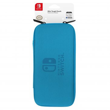 Hori Switch Lite Slim Tough Pouch Case - Blue