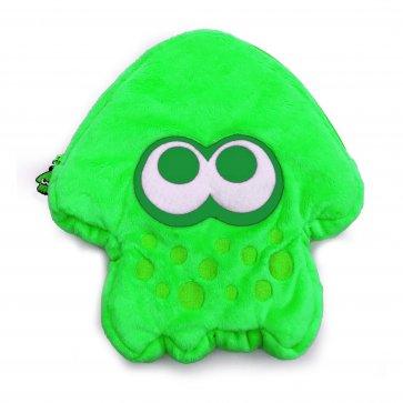 Switch Splatoon 2 Plush Pouch Green
