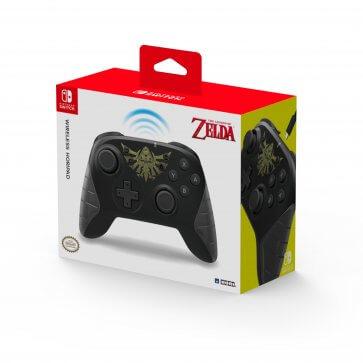 Zelda Wireless Horipad Controller
