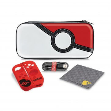 Nintendo Switch Starter Kit - Poke Ball Edition