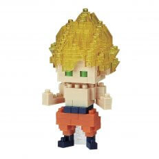 Dragon Ball - Son Goku Super Saiyan Nanoblock - 12PC PDQ