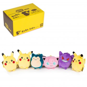 "5"" Pokemon Mocchi Mocchi Plush 6pc Assortment Box"