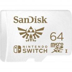 Switch SanDisk MicroSDXC 64 GB Memory Card