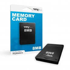 8MB Memory Card for PlayStation 2