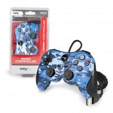 Wired USB Controller for PS3 - Digicamo Blue