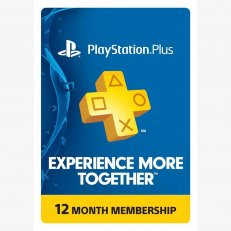 Playstation Network Live 12 Month Membership