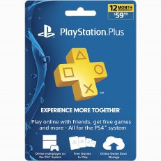 Playstation Plus PSN 12 Month Membership