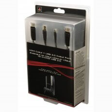PS3 HDMI Cable & USB 2.0 Cable Pack
