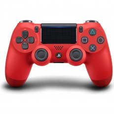 PS4 DualShock 4 Wireless Controller - Magma Red - Asian