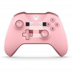 Xbox One S Wireless Controller - Minecraft Pink
