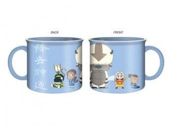 Avatar - Appa, Aang, Sokka Camper Mug - 20oz
