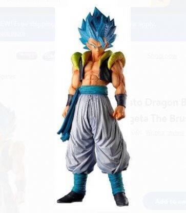 Dragon Ball Super The Gogeta The Brush Super Saiyan Figure