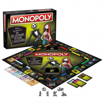 The Nightmare Before Christmas - Monopoly Board Game