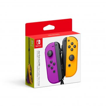 Nintendo Switch Joy-Con (L/R) Controller - Purple/Orange