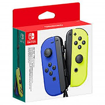 Nintendo Switch Joy-Con (L/R) Controller - Blue/Yellow