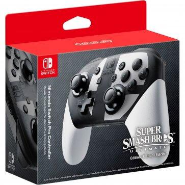Super Smash Bro. Edition Switch Pro Controller