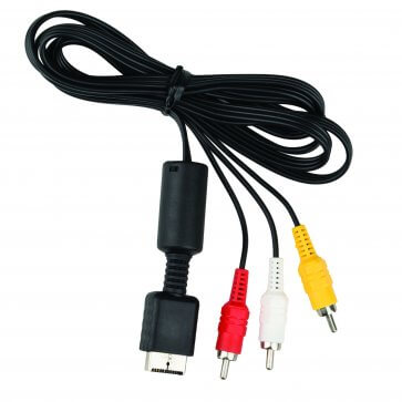 AV Cable for PS2 - Bulk