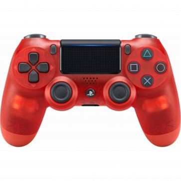 PS Dualshock 4 Wireless Controller Refurbished - Crystal Red