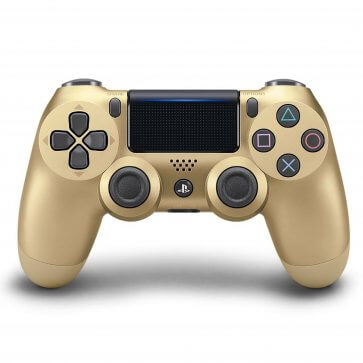 PS Dualshock 4 Wireless Controller Refurbished - Gold